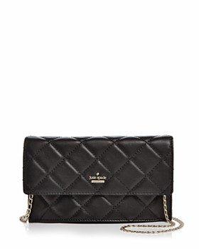 kate spade new york emerson place brennan quilted leather crossbody - Kate Spade Business Card Holder