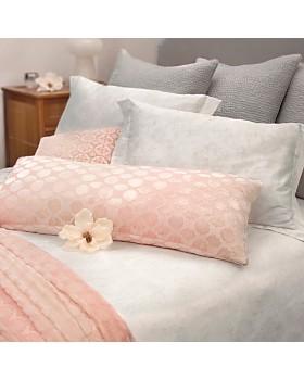 "Kevin O'Brien Studio - Mod Fretwork Velvet Decorative Pillow, 16"" x 36"""