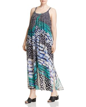 Nic+Zoe Plus Bloom Me Away Maxi Dress