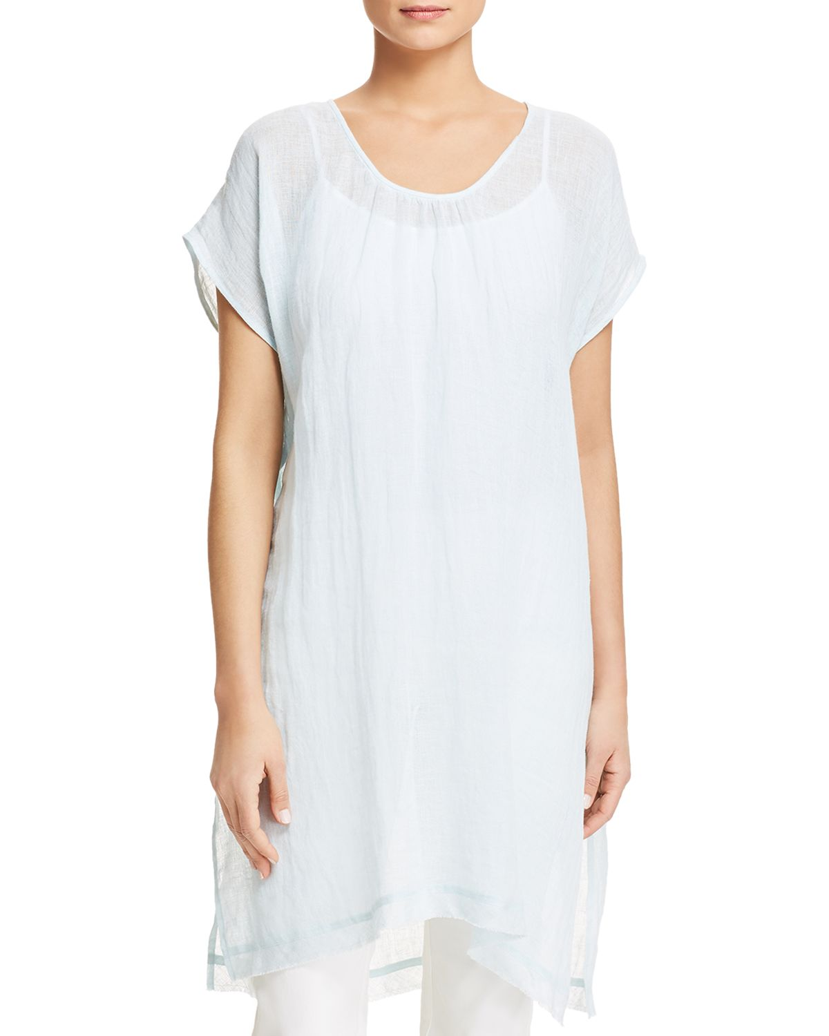 Organic Linen Caftan by Eileen Fisher