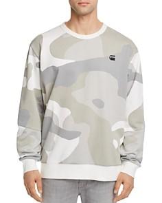 G-STAR RAW Stalt Camouflage Crewneck Sweatshirt - Bloomingdale's_0