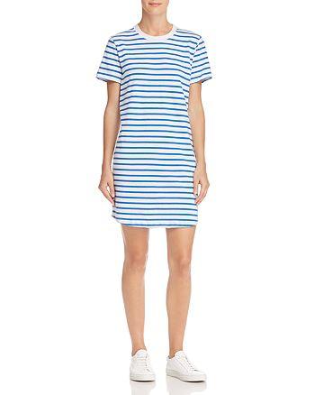 Current/Elliott - The Beatnik Striped T-Shirt Dress