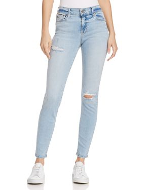 PISTOLA DISTRESSED SKINNY JEANS IN TEMPORARY LOVE