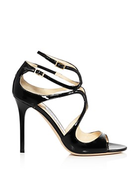 Jimmy Choo - Women's Lang 100 Patent Leather High-Heel Sandals