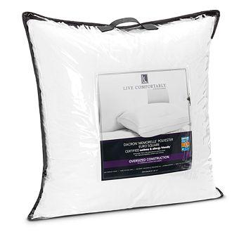 Live Comfortably - Medium Memorelle Pillow, Super Euro