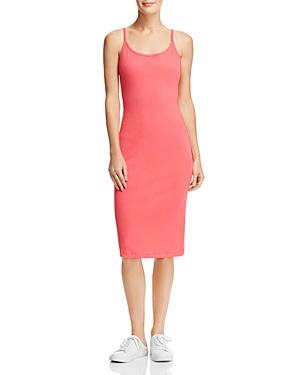 French Connection Tommy Ribbed Racerback Midi Dress - 100% Exclusive