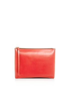 Marni - Double-Sided Leather Pouchette Clutch