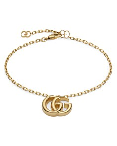 Gucci 18K Yellow Gold Running G Bracelet - Bloomingdale's_0