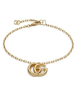 Gucci - 18K Yellow Gold Running G Bracelet