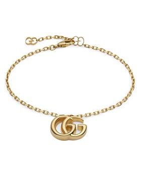 Gucci - 18K Yellow Gold Running G Bracelet