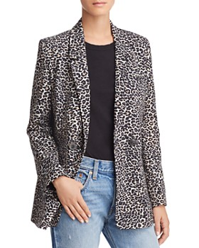 Anine Bing - Madeleine Leopard Blazer