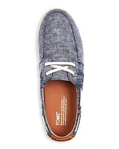TOMS - Men's Culver Chambray Boat Shoes
