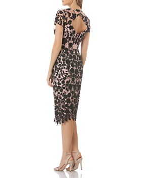 JS Collections - Floral Embroidered Dress