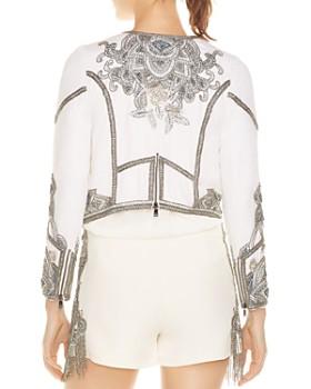 Haute Hippie - Soleil Embellished Moto-Inspired Jacket