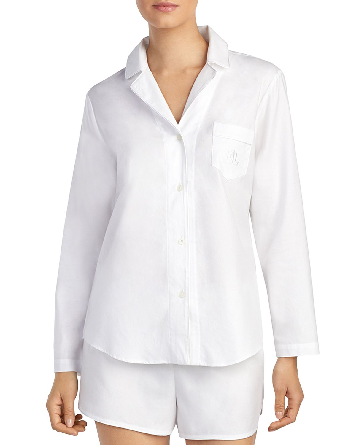 Seaside Cotton Short Pajama Set  by Lauren Ralph Lauren