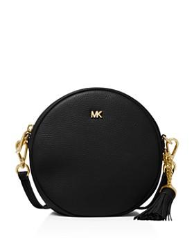 MICHAEL Michael Kors - Medium Leather Circle Crossbody