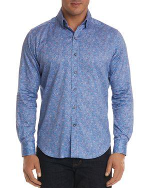 Robert Graham Corey Regular Fit Button-Down Shirt