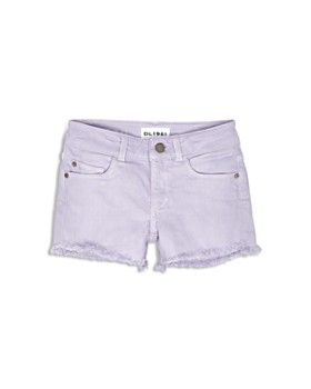 DL1961 - Girls' Lucy Frayed-Hem Shorts - Little Kid