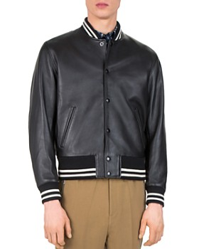The Kooples - Started Teddy Leather Jacket