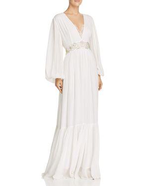 Cari Sparkle Wedding Dress, Summer White