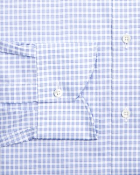 Canali - Multi Check Regular Fit Dress Shirt