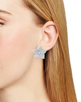 kate spade new york - Pavé Bloom Statement Earrings
