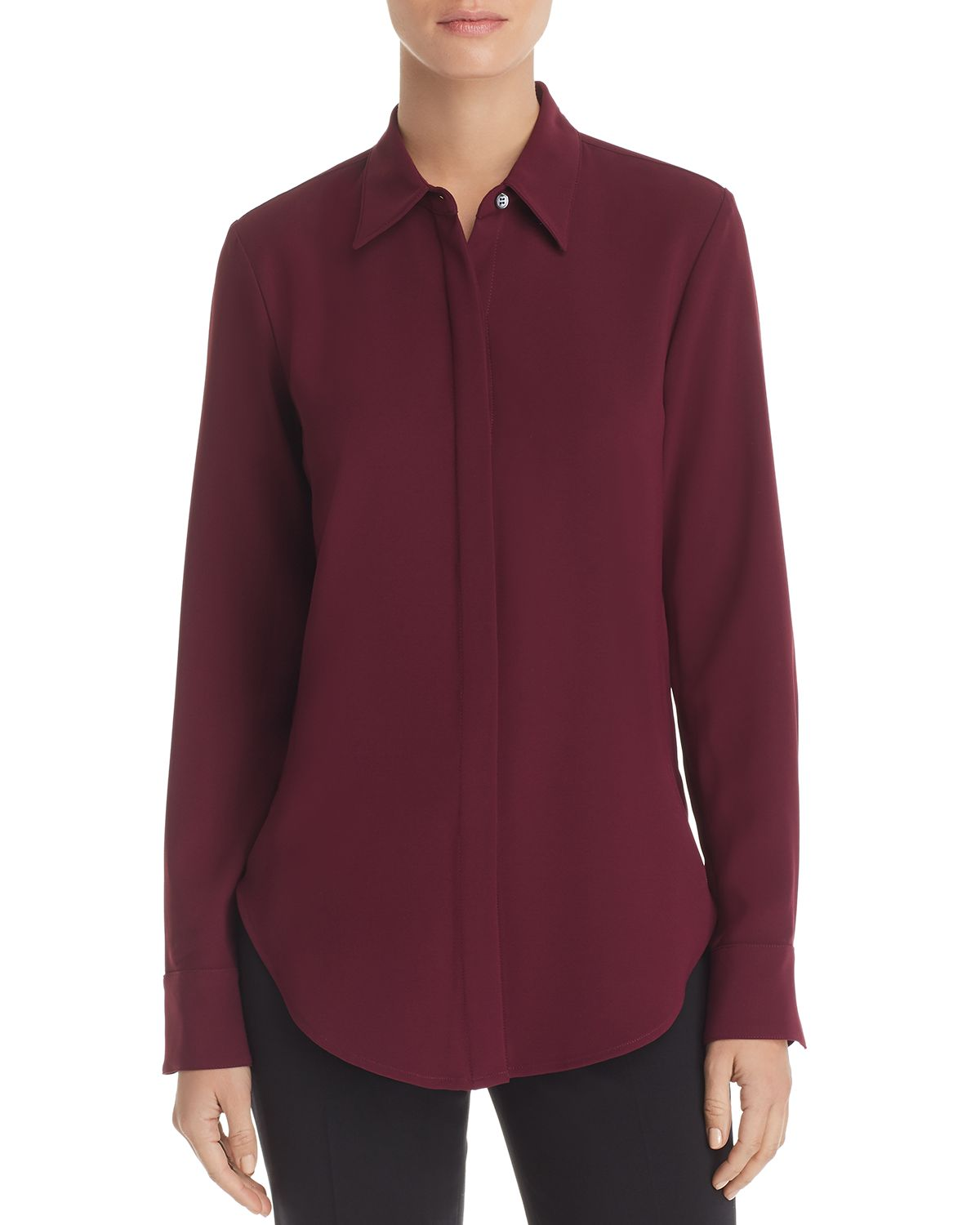 Sunaya Crepe Shirt by Theory
