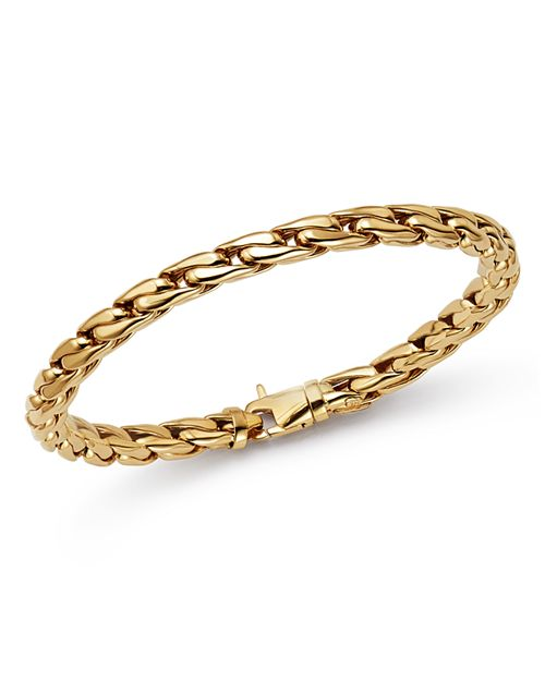 Bloomingdale's - Polished Curb Link Bracelet in 14K Yellow Gold - 100% Exclusive