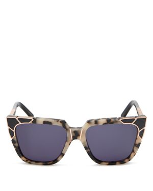 PARED EYEWEAR CHARLIE & THE ANGELS SQUARE SUNGLASSES, 53.5MM