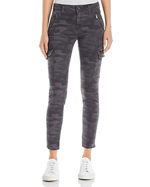 Mavi Juliette Skinny Cargo Jeans in Smoke Camo