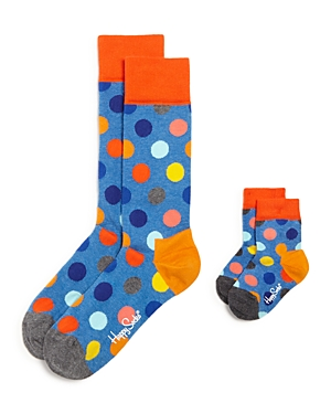 Happy Socks Two Peas In A Pod Father & Son Gift Box