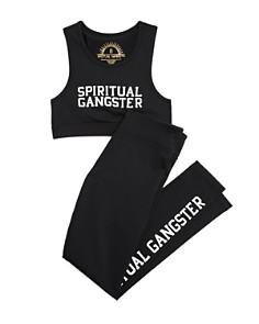 Spiritual Gangster Girls' Logo Sports Bra & Logo-Print Leggings - Little Kid, Big Kid - Bloomingdale's_0