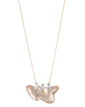 Alexis Bittar - Freeform Pendant Necklace, 16""