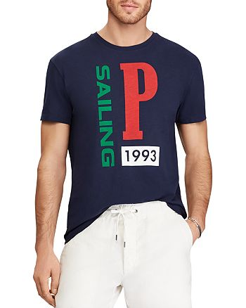 Polo Ralph Lauren CP-93 Classic Fit Crewneck Tee   Bloomingdale s 7afb568b829