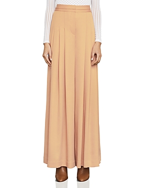 Bcbgmaxazria Brandy Pleated Wide-Leg Pants
