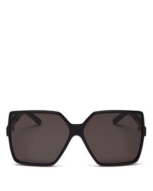 Saint Laurent Women's Betty Oversized Square Sunglasses, 63mm