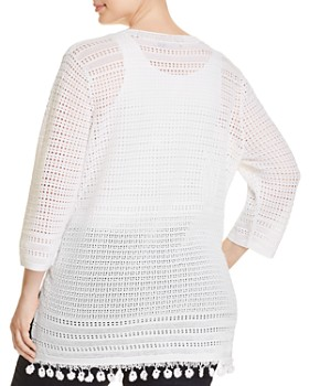 NIC and ZOE Plus - Right On Track Crochet Tunic