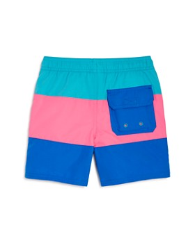 Vineyard Vines - Boys' Color-Block Swim Trunks - Little Kid, Big Kid