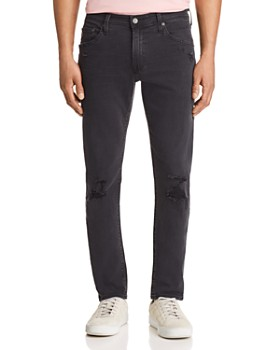 AG - Tellis Slim Fit Jeans in 3 Years Black Ash