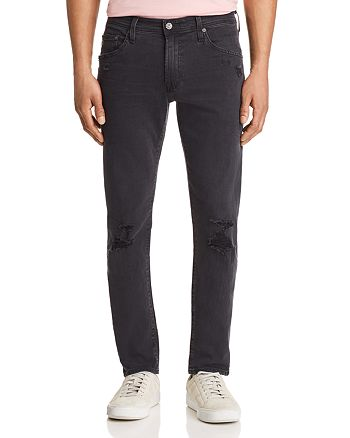 AG - Tellis Slim Fit Jeans in 3 Years Black Ash