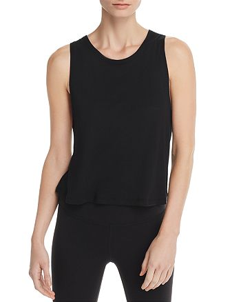 Beyond Yoga - Aquarius Twist Cutout Tank