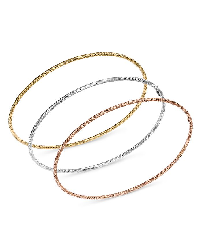 Bloomingdale's - Twisted Bangle in 14K Gold - 100% Exclusive