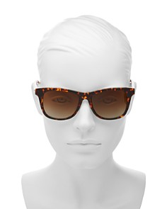 kate spade new york - Women's Charmine Square Sunglasses, 53mm