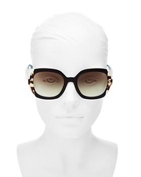 Prada - Women's Etiquette Square Sunglasses, 54mm