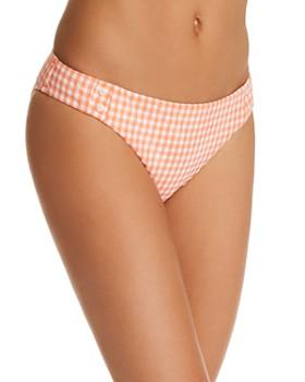 Nanette Lepore - Capri Gingham Bikini Bottom