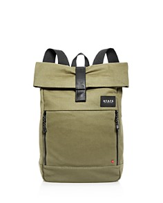 STATE - Kensington Colby Canvas Backpack