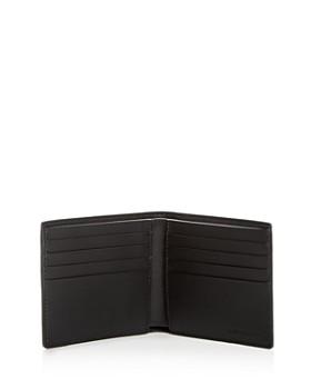 Burberry - Vintage Check Leather Bi-Fold Wallet