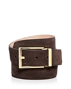 Salvatore Ferragamo Suede Belt - 100% Exclusive - Bloomingdale's_0