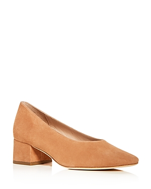 Loeffler Randall Women's Brooks Suede Block Heel Pumps