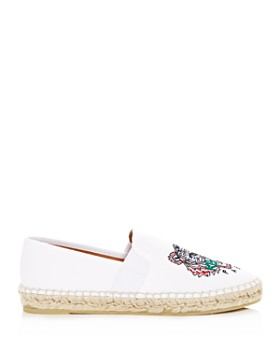 Kenzo - Women's City Tiger Embroidered Espadrille Flats